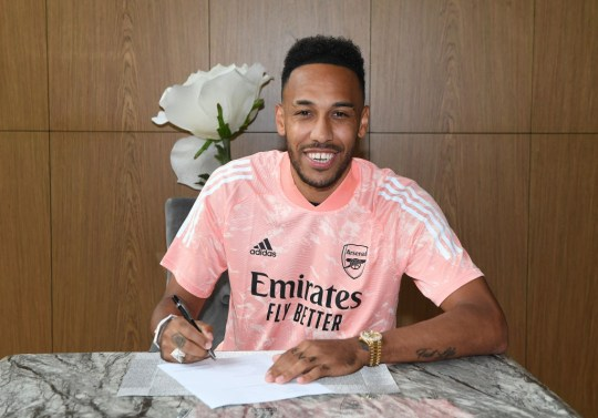 Arsenal have announced a new deal for Pierre-Emerick Obamayang