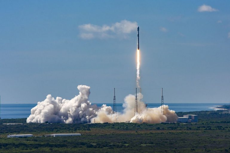 60 Starlink Internet satellites to be launched today. Here's how to watch it live.