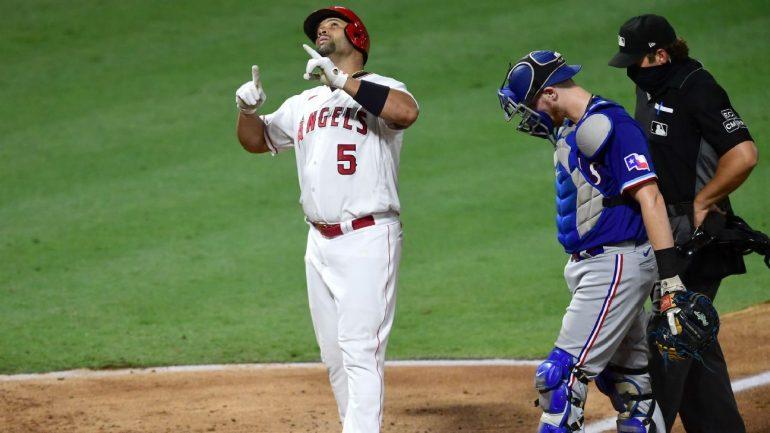 Albert Pujols of Los Angeles surpasses Willie Mays in all-time home run list