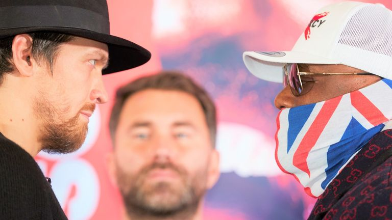 Usaik and Chisora rejoice in the heavyweight fight, which is scheduled for October 31st again