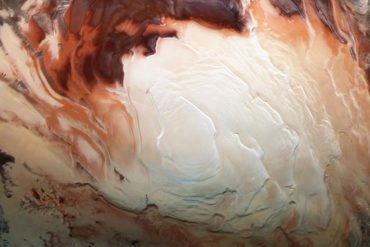 Ancient underground lakes were discovered on Mars