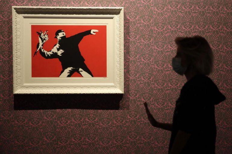 Banksy loses EU trademark battle with greeting card company