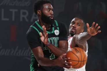 Celtics' last second loss to Raptors Jaylan Brown humiliated