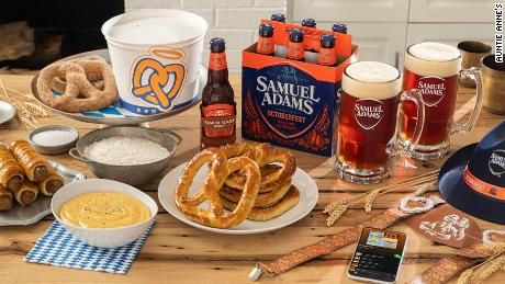 Aunt Anne teamed up with Samuel Adams for a new October Fest kit.