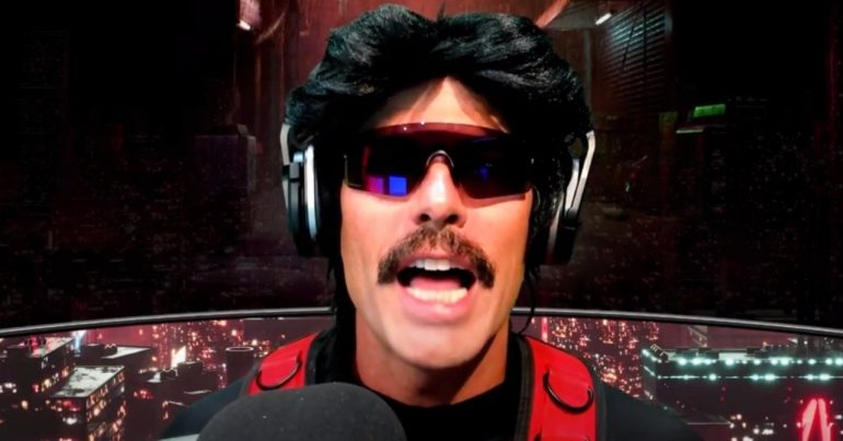 Dr.  Disrespect indicates that money was the reason for the Twitch ban