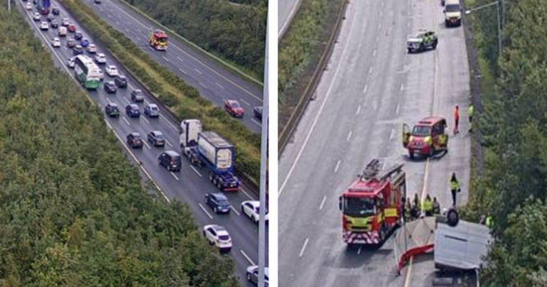Dublin traffic: M1 motorway reopens with heavy delay after emergency services respond to serious collision
