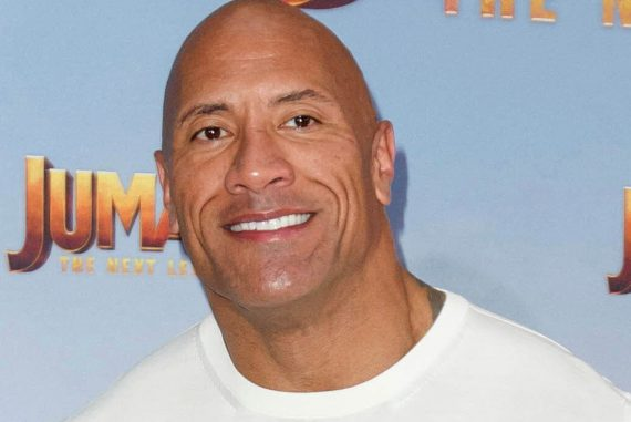 Dwayne Johnson tore an electric gate off a wall so it wasn't too late for work.