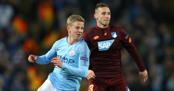 Fearing a double raid, the Man City player offered Barcelona