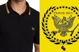Fred Perry kills his yellow and black polo shirt, condemns fascist occupiers