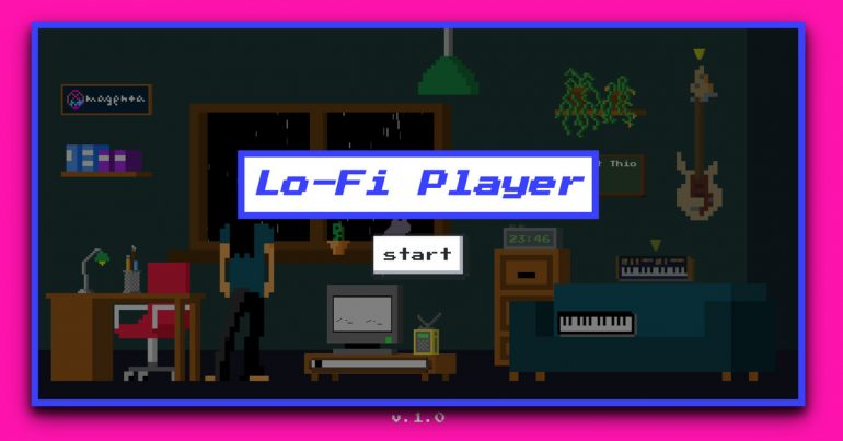 Google Magenta's Lo-Fi Player lets you create your own virtual music room