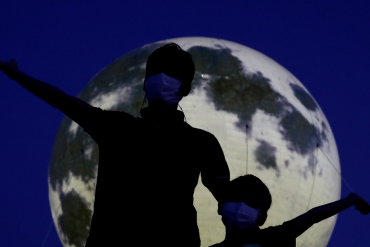 If you stare at the moon on Saturday night, NASA will really like it
