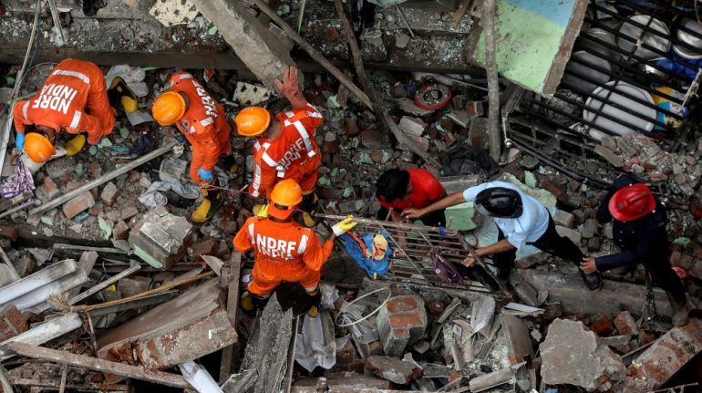 India: Deadly building collapses near Mumbai, many fear trapped | India News