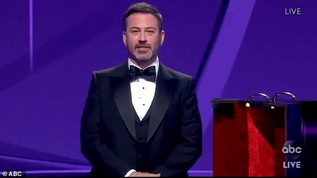 Jimmy Kimmel (pictured) has been nominated to host the 72nd Primetime Emmy Awards on Sunday, leading the awards show for the third time.