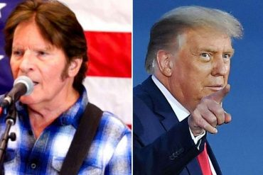 John Fogerti, who calls Trump a 'lucky son', is confused by the fact that he sang a Vietnam War song at a presidential rally.