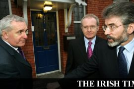 'McGuinness may have been involved in the IRA until the end and the dismissal'