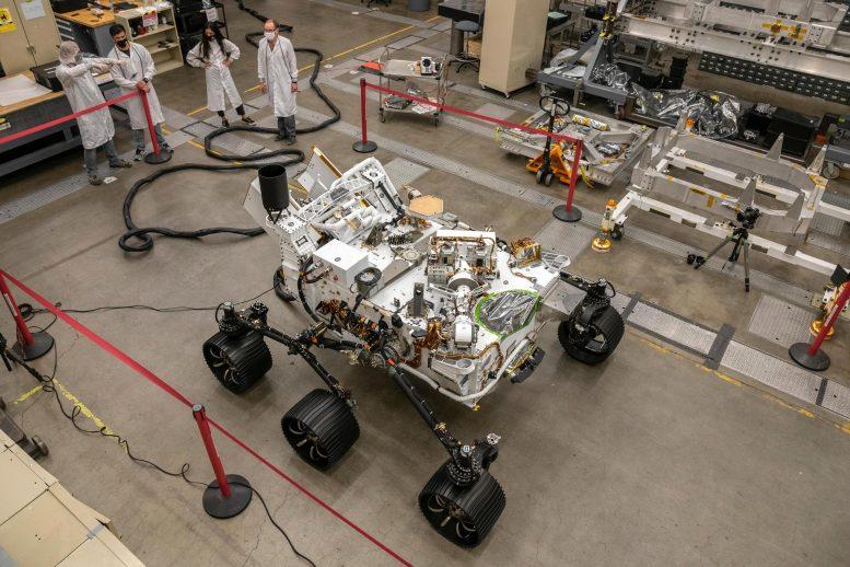 NASA's persistence Mars rover double test