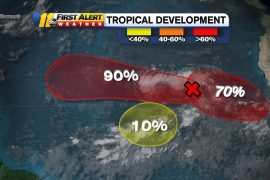 National Hurricane Center: Three tropical waves develop in the Atlantic Ocean