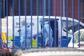 Police officer shot dead in London