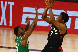 Raptors vs. Celtics: Kyle Lowry proves to be the clutch play-off scorer for Toronto alongside poet Leonard.