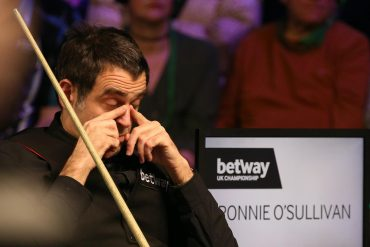 Ronnie O'Sullivan suffers a heart attack at European Masters Aaron Hill