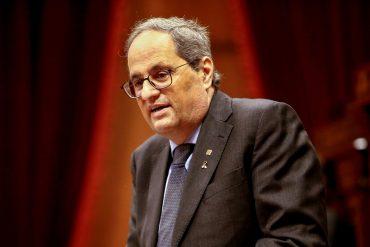 Spanish court bans Catalan leader Quim Tora