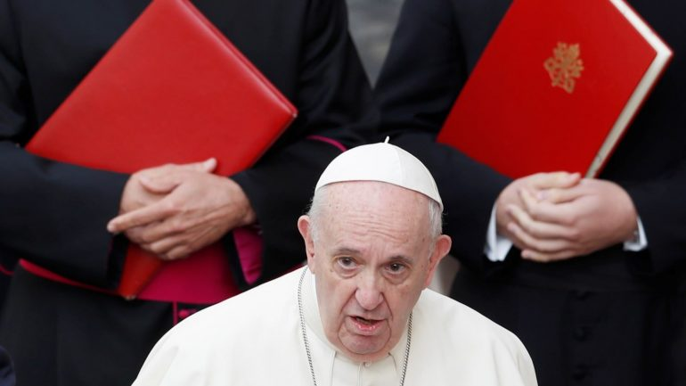 The Vatican has accused the Trump administration of trying to exploit Pope Francis
