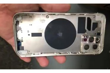The iPhone 12 Pro Chassis Leak suggests including LIDAR