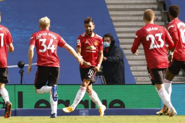 United is out of jail after a late escape in Brighton