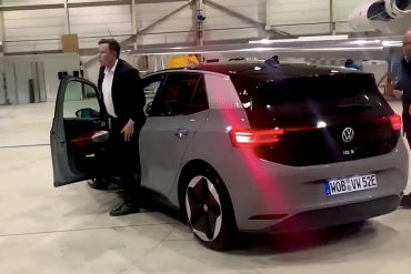 Volkswagen shares Elon Musk's test drive of VW ID3: 'This is great'