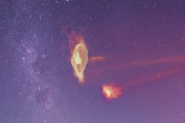 We finally know the origin of a Nigu St stream that surrounds the Milky Way