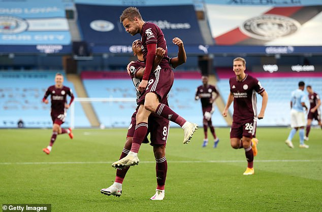 Jamie Verdy takes hat-trick to beat Manchester City at Etihad last weekend
