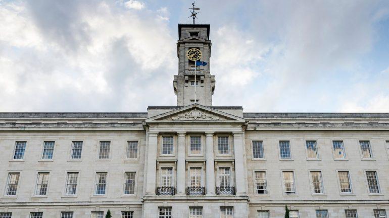 The Trent Building, part of Nottingham University in Nottingham, England