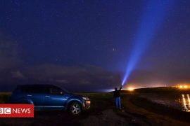 Sky watchers set for the Draconid meteorite