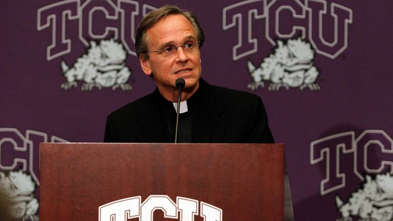 Following the TCU's full invitation to attend the Big East Conference in Fort Worth, Texas on November 29, 2010, Notre Dame's President and Big East CEO Executive Committee Chairman John I.  Jenkins speaks to the media.