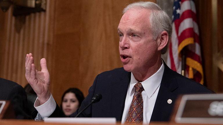 Republican Senator Ron Johnson