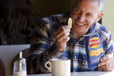 Gary Lineker marks the 1.2m Walkers' Crisp Deal after taking the 400k BBC cut