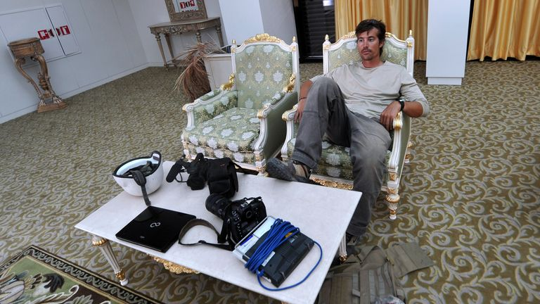 James Foley was beheaded after being abducted in Syria