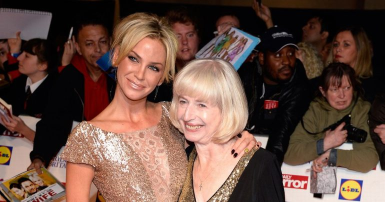 Sarah Harding 'lives with mum' after undergoing treatment for acute breast cancer
