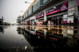 F1 Eiffel GP: Second practice session aborted amid poor visibility - F1