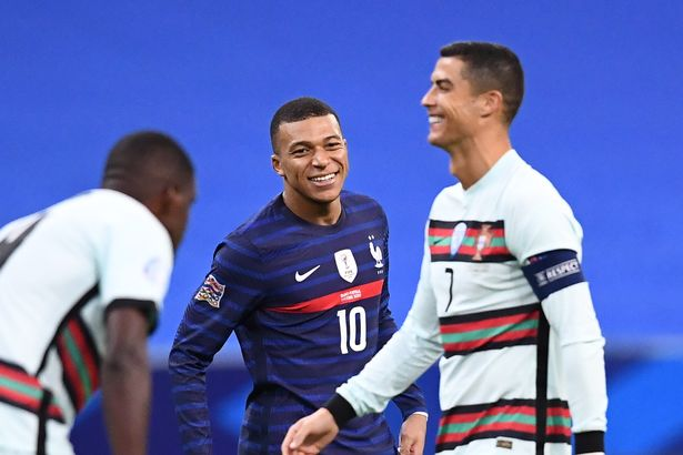 Growing up, the Frenchman held the Portuguese in high esteem - describing Ronaldo as his 'idol' after sharing the pitch.