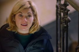 Jodie Whittaker fights with tears as she reads about the tragic death of the war hero's ancestor