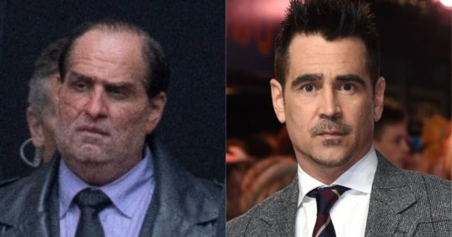 Colin Farrell's stunning adaptation of 'Penguin' is featured in new images from the set of 'The Batman'