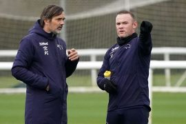 Wayne Rooney 'ready to become new Derby County manager' as Philippe Coque's exit closes