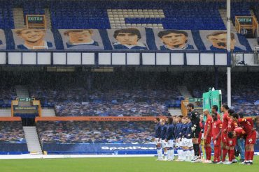 Lack of fans 'will benefit Everton' as Liverpool warn of impact of empty Goodison Park