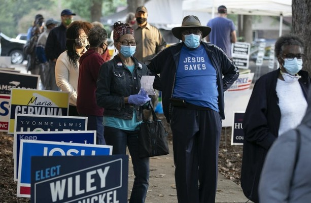 Early Vote Record Flood Transforms U.S. Elections TheJournal.ie