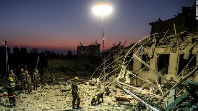 Azerbaijan and Armenia agree to suspend war