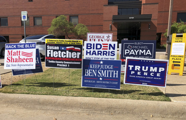Us-Texas-Plano-Presidential-Election-Early Voting