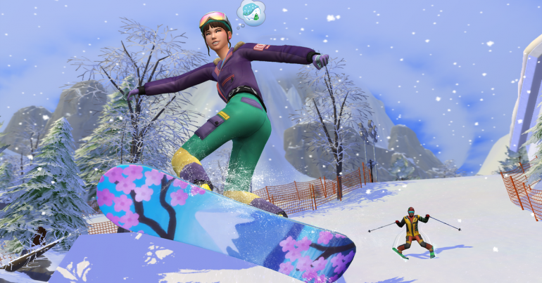 Snowy Escape, the new Japanese-inspired winter extension of The Sims 4 coming out on November 13th
