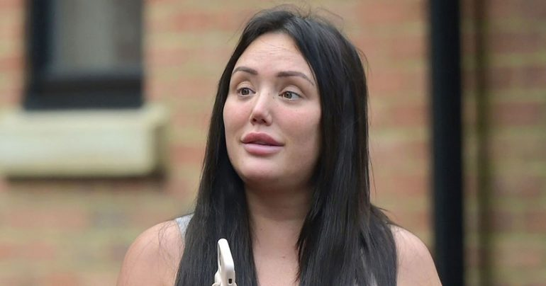 Charlotte Crosby gives herself a rare look without makeup at home in Sunderland
