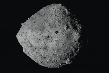 U.S. spacecraft touches asteroid to capture rare debris